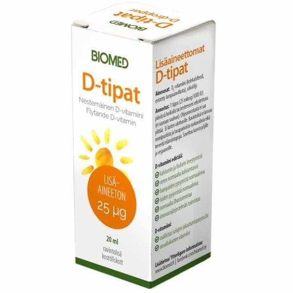 Biomed D-vitamiinitipat